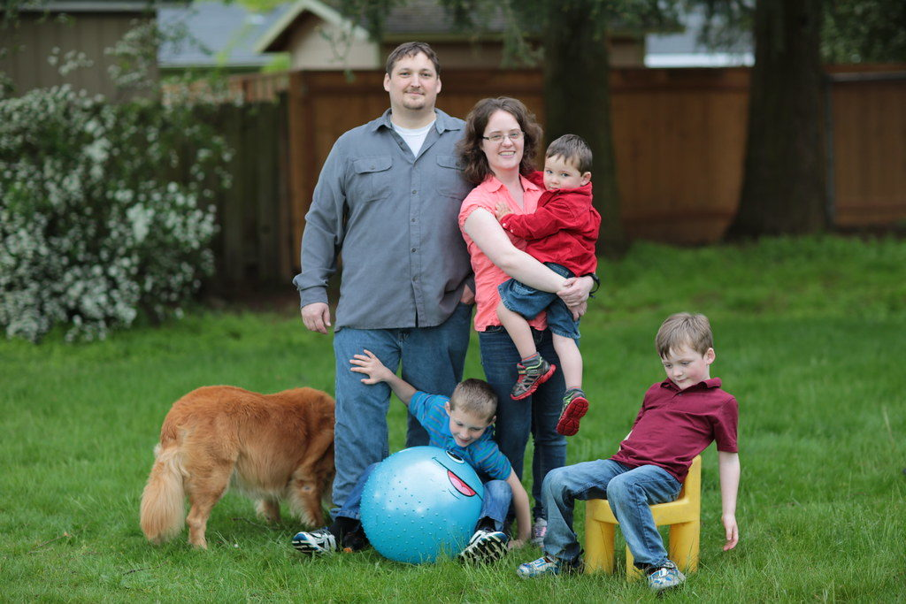 Family with Pet- Benefits of having dog