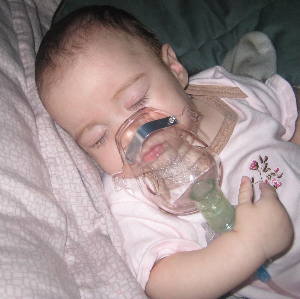 Nebulizer on babies