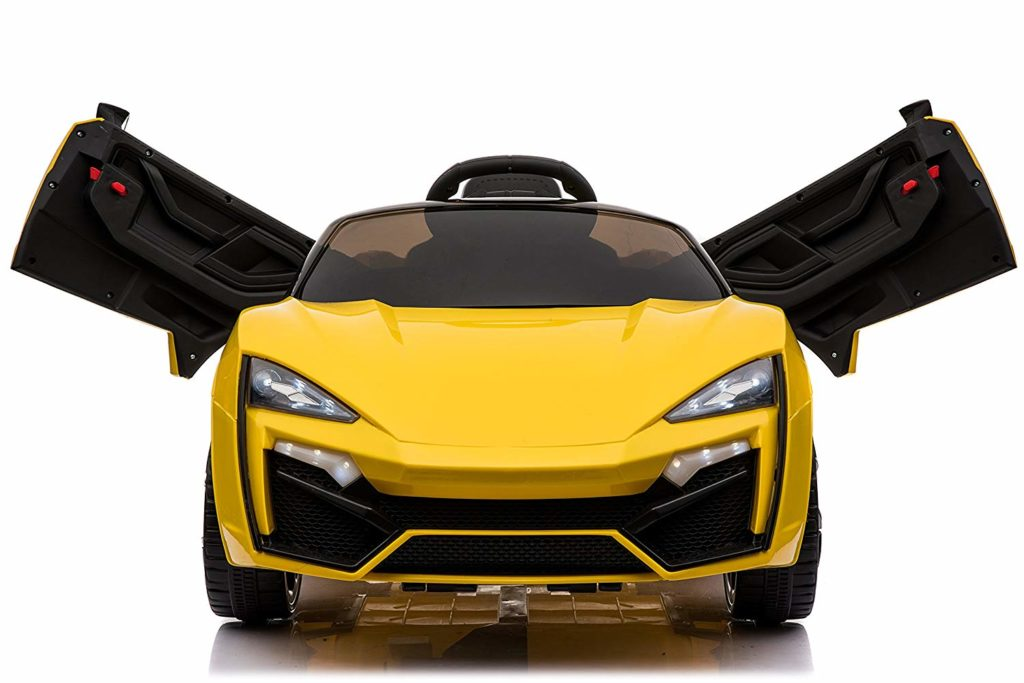 Toyhouse Hypersport car - Rechargeable ride on car